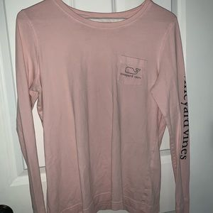 Pink vineyard vines long sleeve